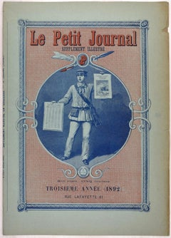 Le Petit Journal - Original Vintage Poster - 1892