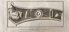 Roman Decoration - Original Etching by Various Old Masters - 1750s