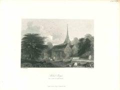 Stoke Pogis - Original Lithograph - Mid 19th Century