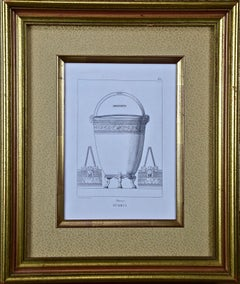 Three Engravings Depicting Classical Italian Bronze Architectural Elements