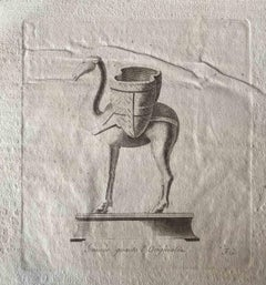 Animal Figures - Original Etching by Various Old Masters - 1750s