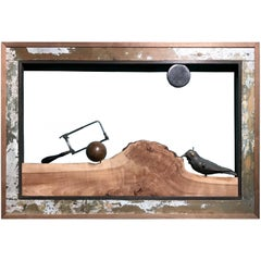Varujan Boghosian Abstract Framed Landscape Construction