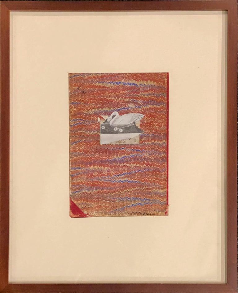 Swan & Book Fragment - Art by Varujan Boghosian