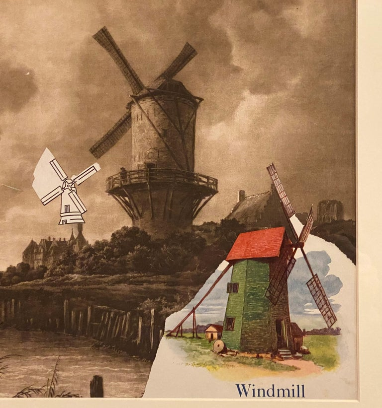 Windmills Collage For Sale 1