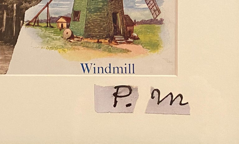 Windmills Collage For Sale 2
