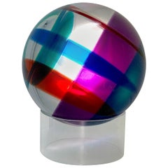Vasa Mihich Lucite Sphere
