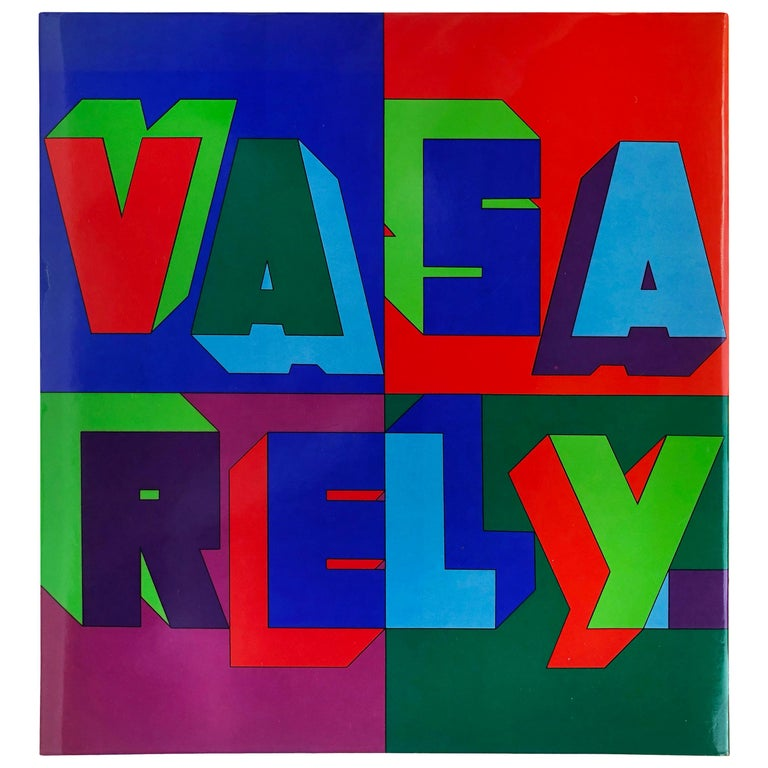 """""""Vasarely III"""" Book For Sale"""
