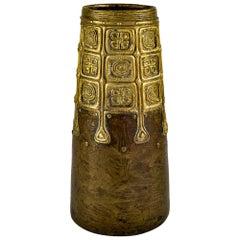 Vase Austrian Jugendstil Gustav Gurschner Bronze circa 1906 Celtic Patterns