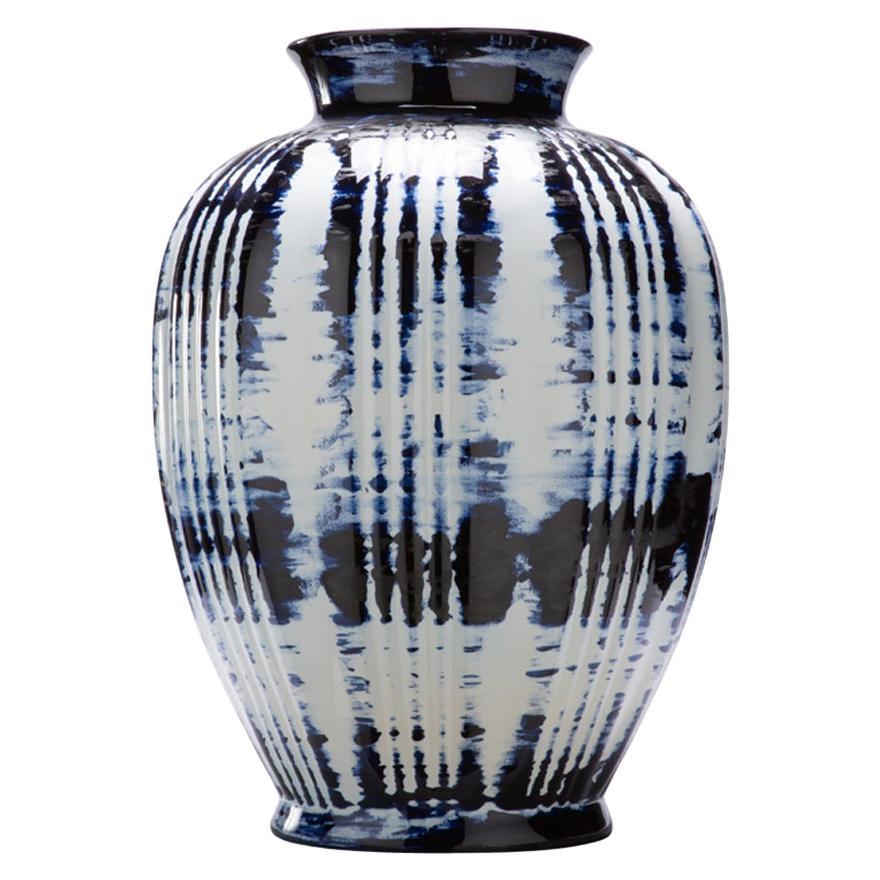 Vase Big, by Marcel Wanders, Delft Blue Hand-Painted, 2006, Unique #100039/2