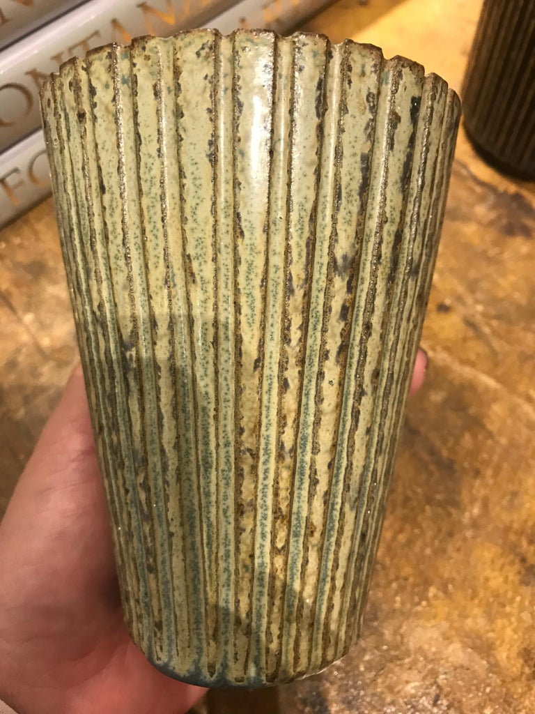 Vase by Arne Bang, Denmark, 1950's In Good Condition In New York, NY