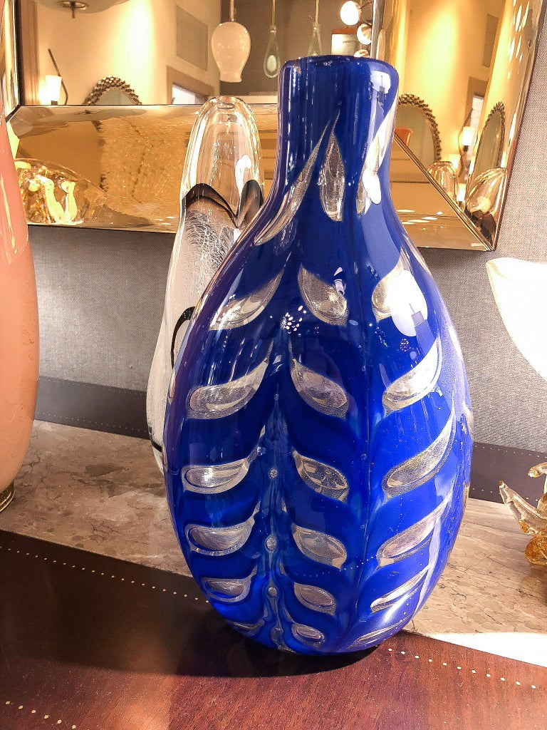 Vase by Barovier & Toso, Italy, 1950s In Good Condition For Sale In New York, NY