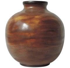 Vase by Giovanni Gariboldi for Richard Ginori/ San Cristoforo, circa 1940's
