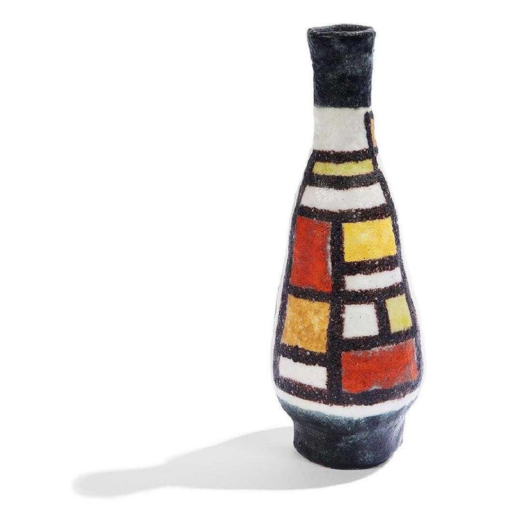 Vase by Guido Gambone For Sale 3