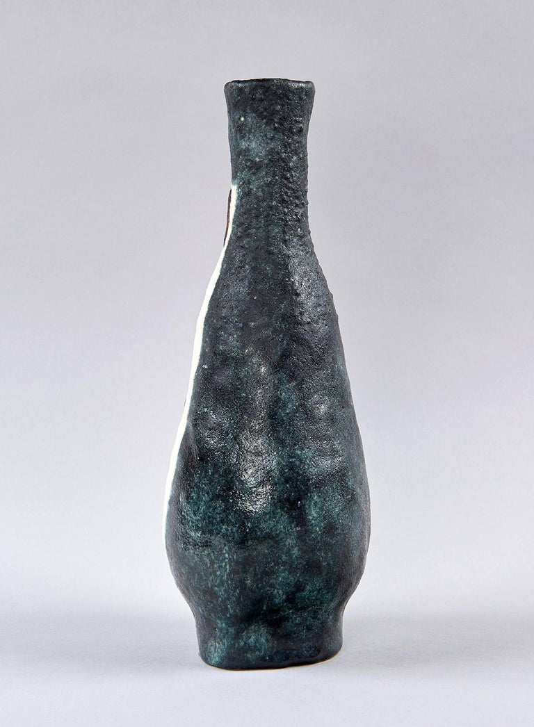Glazed Vase by Guido Gambone For Sale