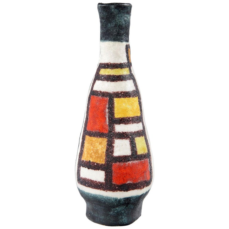 Vase by Guido Gambone For Sale