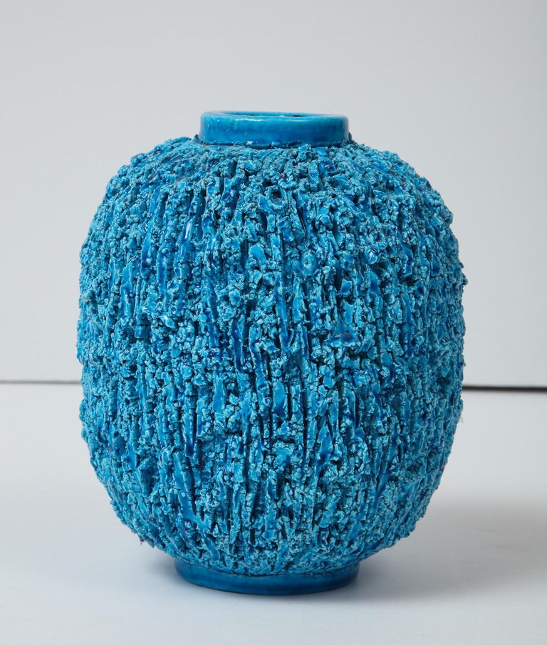 Beautiful vase by Gunnar Nylund, Gustavsberg, Sweden, circa 1950. The group is called