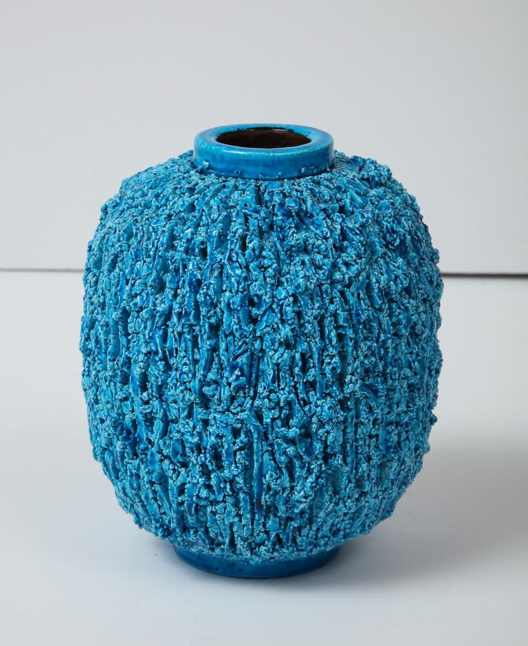Vase by Gunnar Nylund, Sweden, circa 1950 In Good Condition For Sale In New York, NY