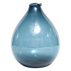 Vase by Timo Sarpaneva, Finland, circa 1960, Blue