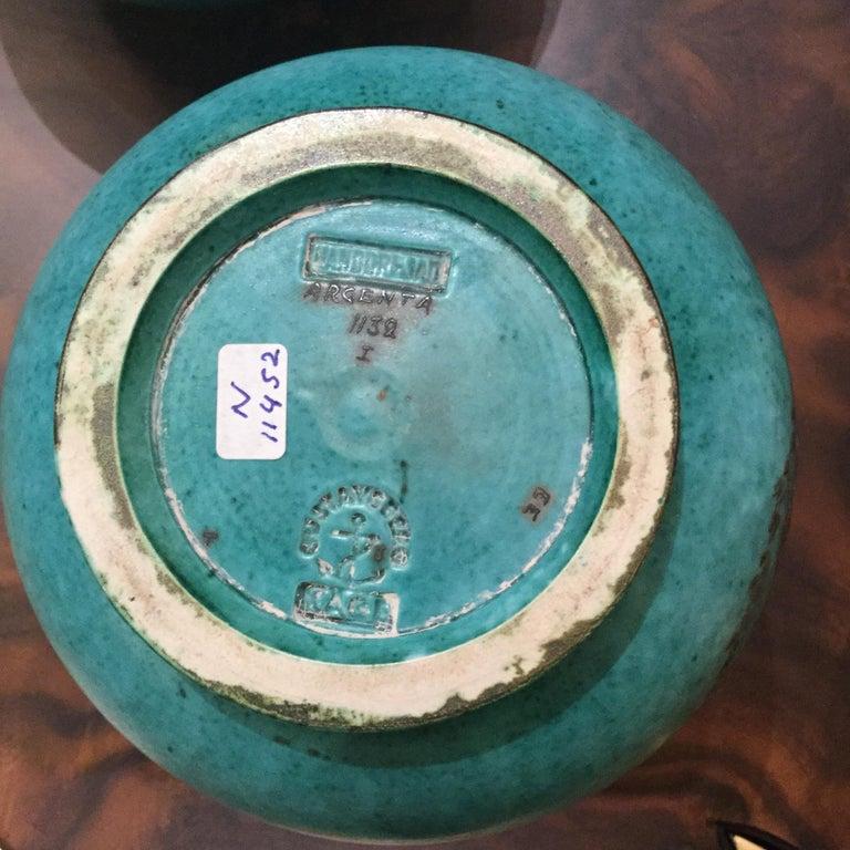 Silver Vase by Wilhelm Kage, Gustabsberg, Sweden, 1930s For Sale