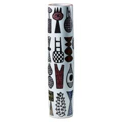 "Vase ""Carnival"" Designed by Stig Lindberg for Gustavsberg, Sweden, 1960's"