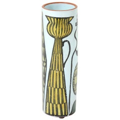 Vase, Ceramic, by Stig Lindberg, Midcentury Scandinavian, circa 1950, Sweden