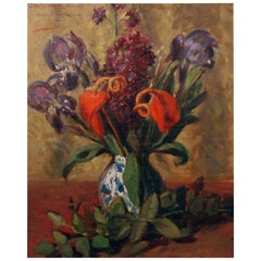 """Vase de Fleurs"" by Leon Herbo"