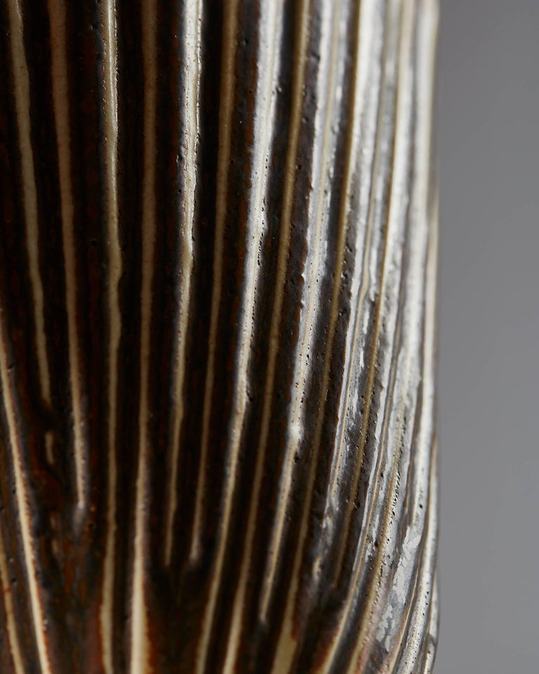Danish Vase Designed by Arno Malinowski for Royal Copenhagen, Denmark, 1950s For Sale