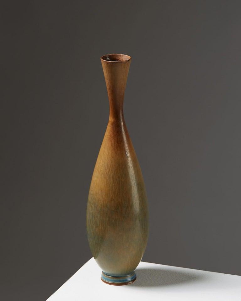 Scandinavian Modern Vase Designed by Berndt Friberg for Gustavsberg, Sweden, 1950s For Sale