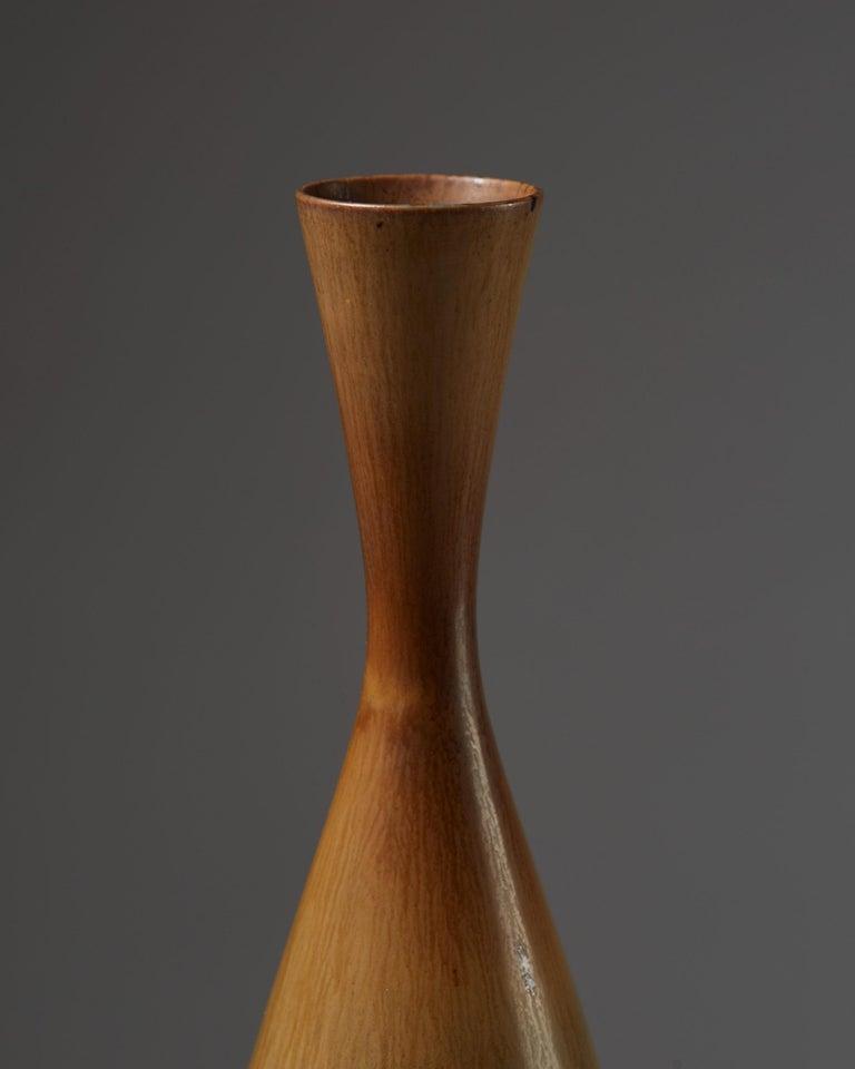Swedish Vase Designed by Berndt Friberg for Gustavsberg, Sweden, 1950s For Sale