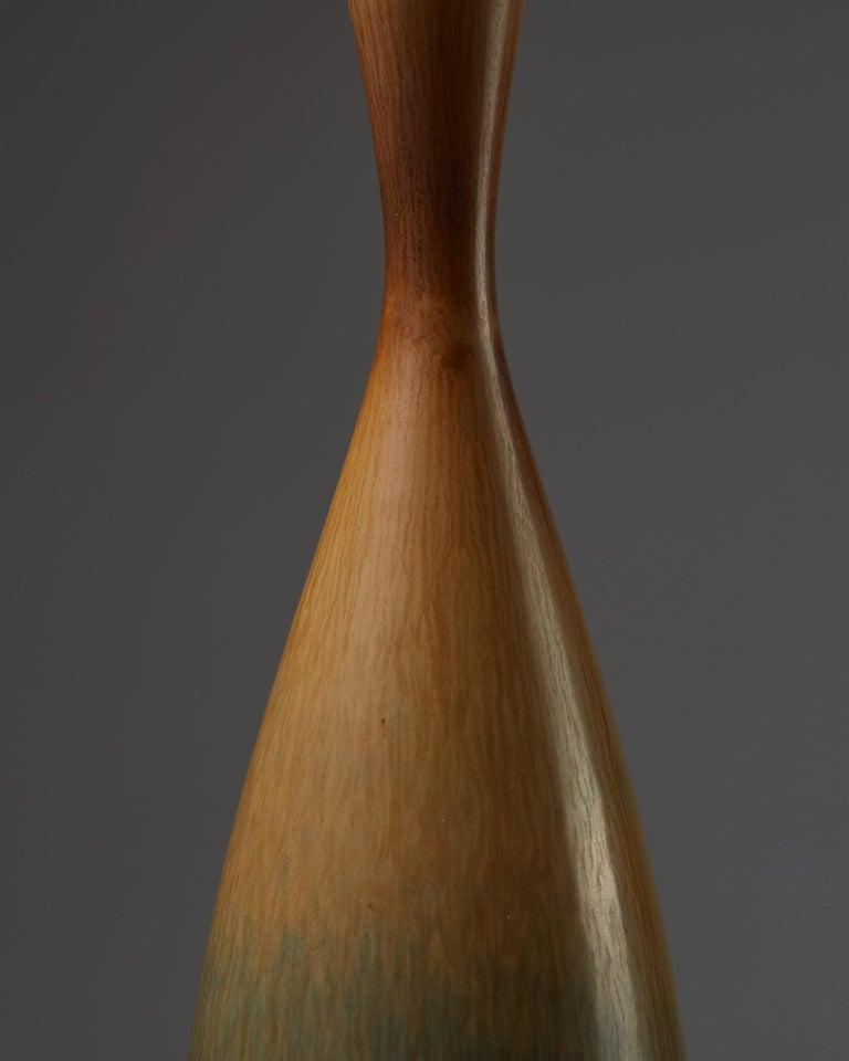 Vase Designed by Berndt Friberg for Gustavsberg, Sweden, 1950s In Good Condition For Sale In Stockholm, SE