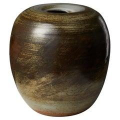Vase Designed by Carl-Harry Stålhane, Sweden. 1980s