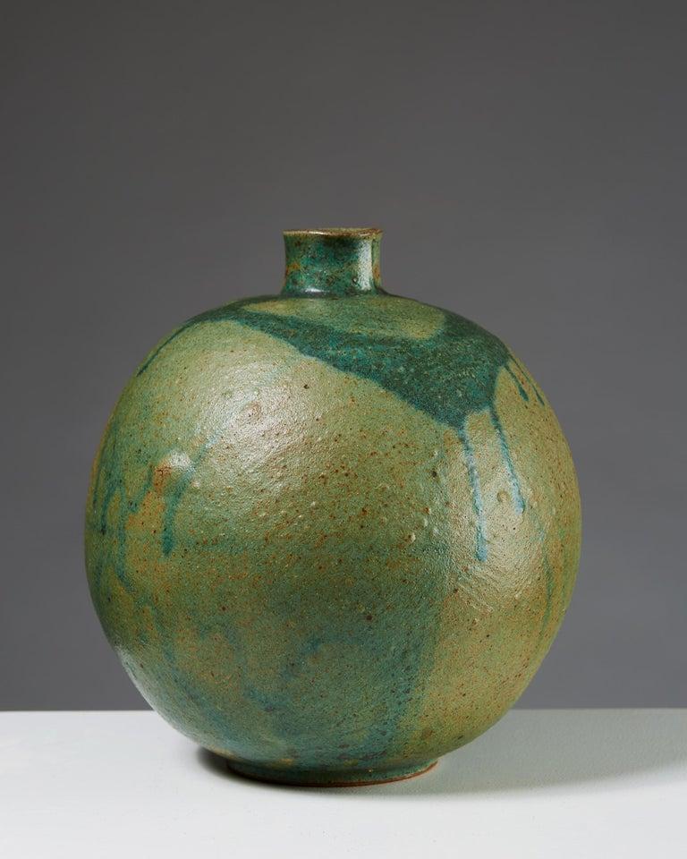 Scandinavian Modern Vase Designed by Emi Fujii,  Sweden, 1980s For Sale