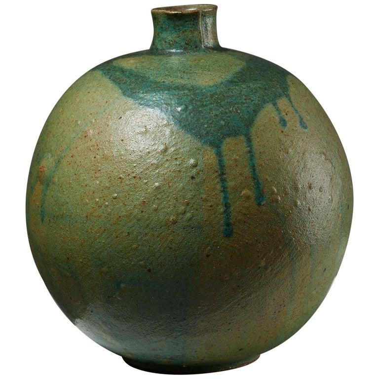 Vase Designed by Emi Fujii,  Sweden, 1980s For Sale