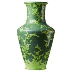 Vase Designed by Gunnar Wennerberg for Gustavsberg, Sweden, Early 1900s