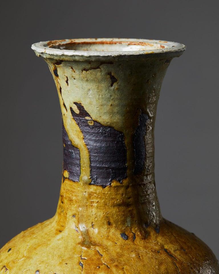 Glazed Vase Designed by Kyllikki Salmenhaara for Arabia For Sale