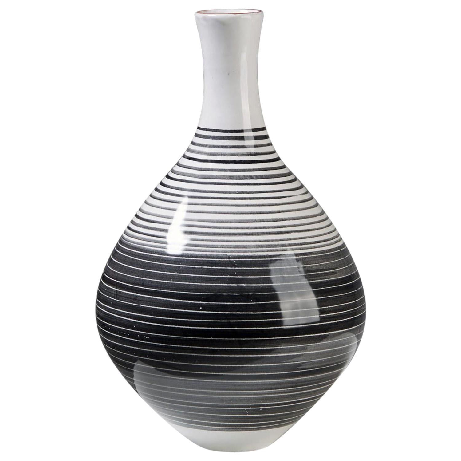 Vase Designed by Mari Simmulson for Upsala Ekeby, Sweden, 1950s