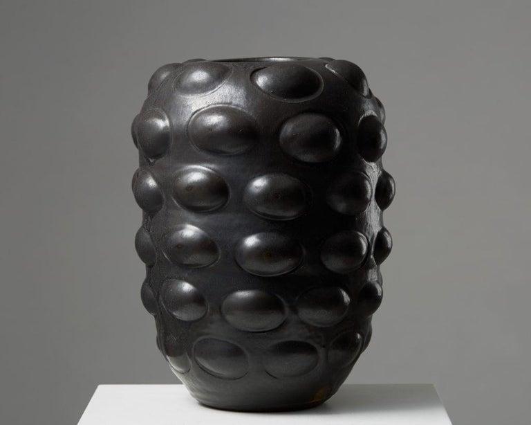 Signed 'Marten Medbo 1998'  Stoneware.