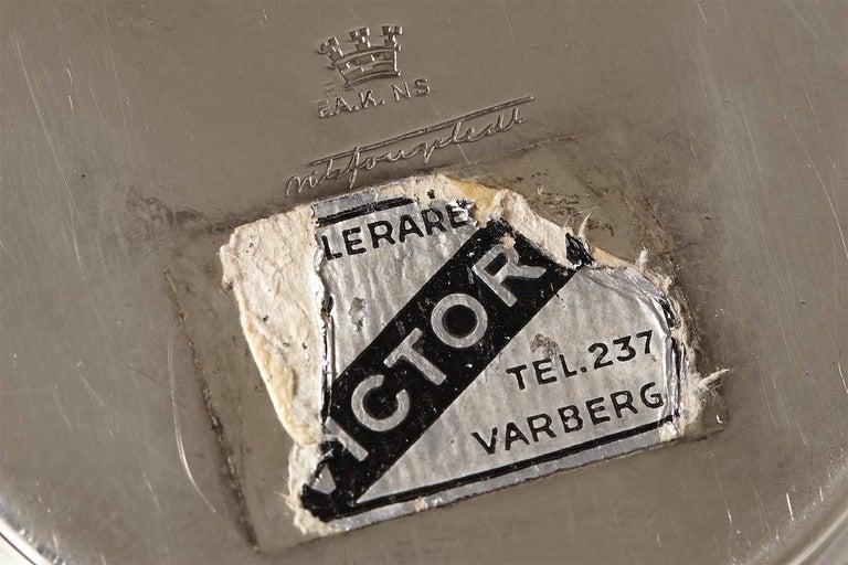 Swedish Vase Designed by Nils Fougstedt, Sweden, 1930s For Sale