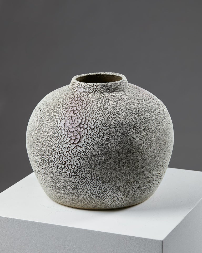 Modern Vase Designed by Rune Bergman, Sweden, 2005 For Sale