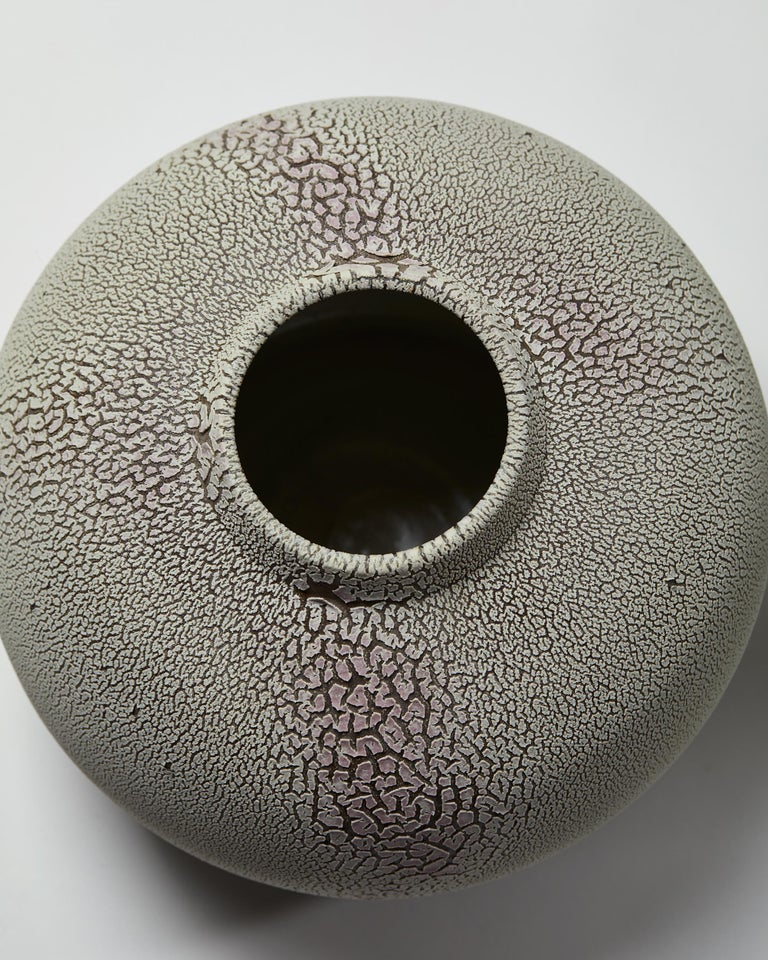 Stoneware Vase Designed by Rune Bergman, Sweden, 2005 For Sale