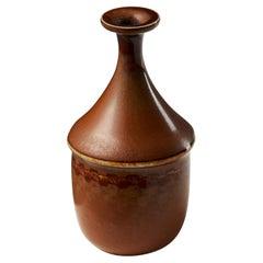 Vase Designed by Stig Lindberg for Gustavsberg, Sweden, 1950's