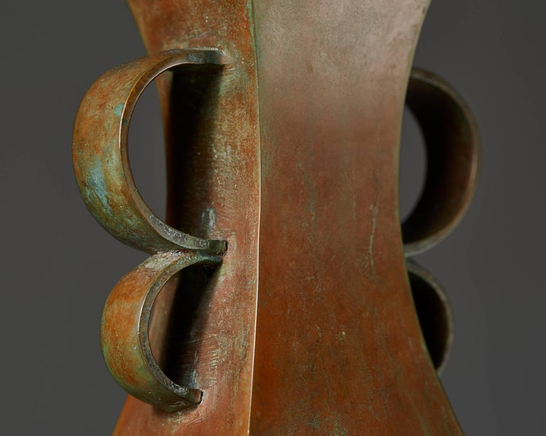 Vase Designed by Sune Bäckström, Sweden, 1930s In Excellent Condition For Sale In Stockholm, SE