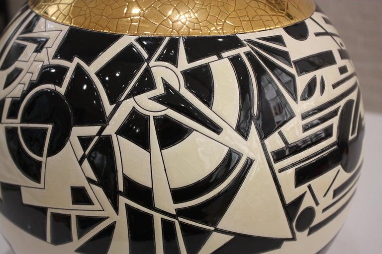 Vase Emaux de Longwy, Motifs For Sale 2