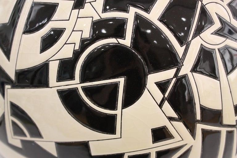 Vase Emaux de Longwy, Motifs For Sale 1