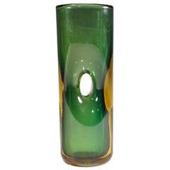 Vase Forato by Fulvio Bianconi for Venini, Murano, 1950s