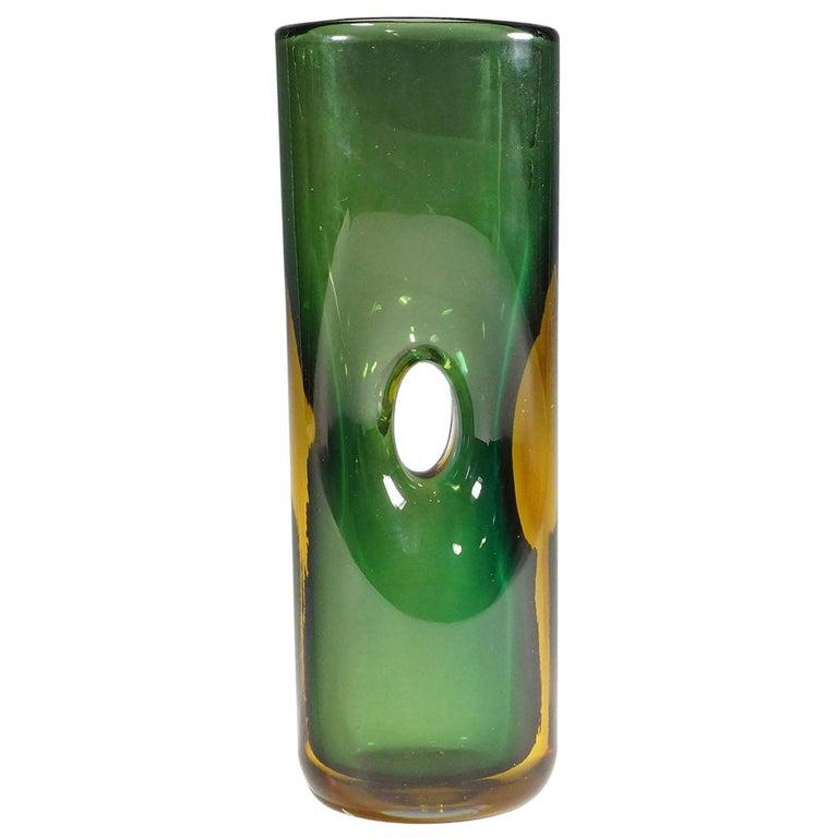 Vase Forato by Fulvio Bianconi for Venini, Murano, 1950s For Sale