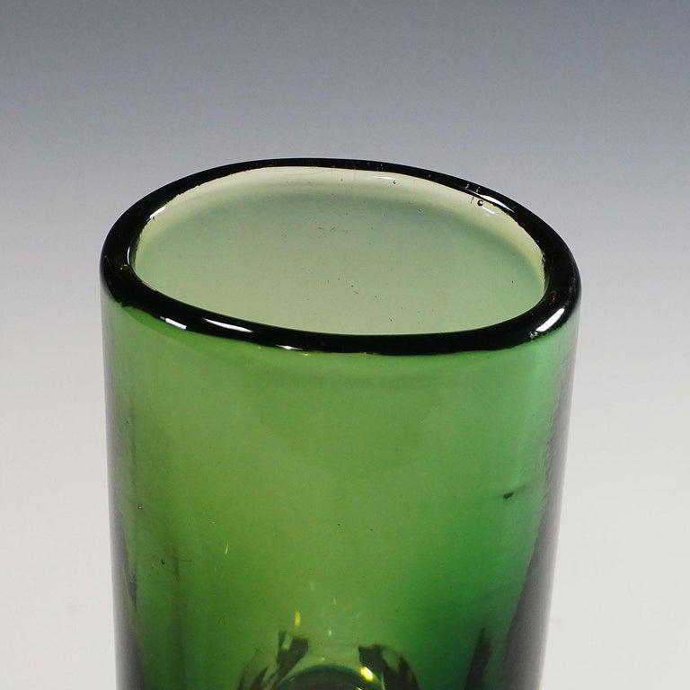 Mid-Century Modern Vase Forato by Fulvio Bianconi for Venini, Murano, 1950s For Sale