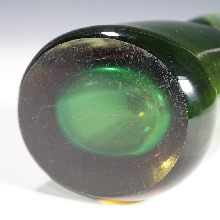 Art Glass Vase Forato by Fulvio Bianconi for Venini, Murano, 1950s For Sale