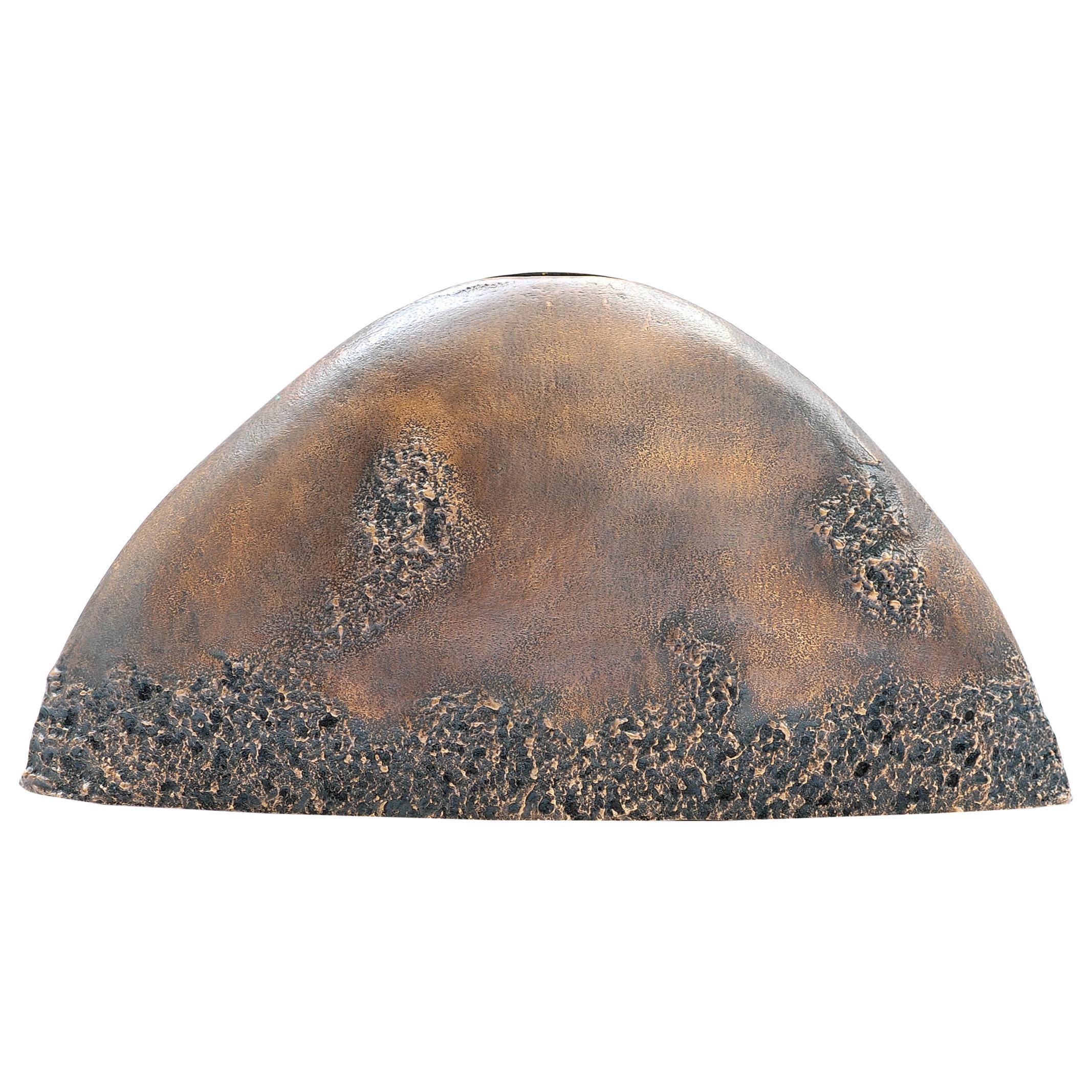 Vase in Dark Bronze by FAKASAKA Design