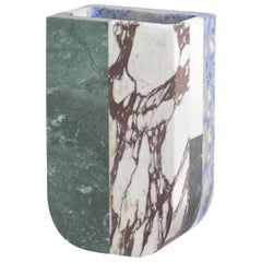 Vase in Marble by Arthur Arbesser, Made in Italy